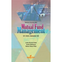 Mutual Fund Management SYBBI Sem 3 Sheth Pub.