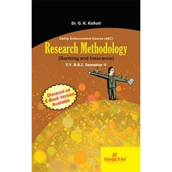Research Methodology (Banking and Insurance) TYBBI Sem V