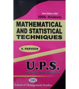Mathematical and Statistical Techniques - I fybcom Sem 1 UPS Idol Students