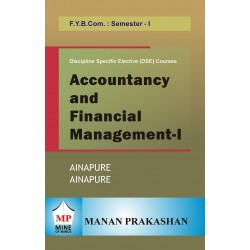 Accounting and Financial Management -I fybcom Sem 1 Manan