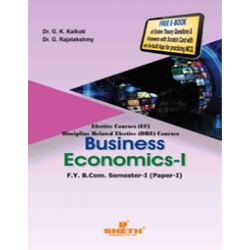 Business Economics - I fybcom Sem 1 Sheth Publication