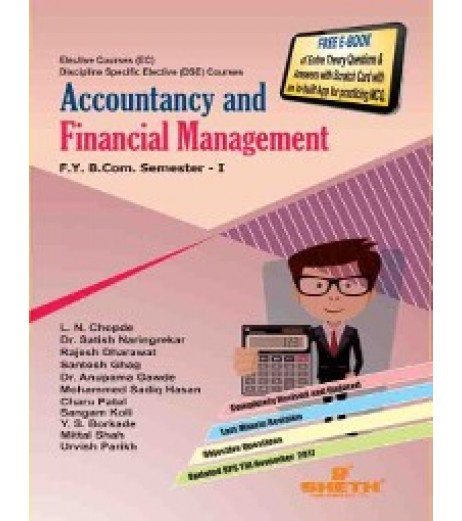 Accounting and Financial Management -I fybcom Sem 1 Sheth Publication