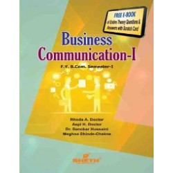 Business Communication - I fybcom Sem 1 Sheth Publication
