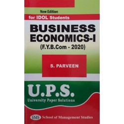 Business Economics - I fybcom Sem 1 UPS Idol Students