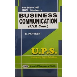Business Communication - I fybcom Sem 1 UPS Idol Students