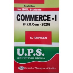 Commerce - I (Introduction to Business) fybcom Sem 1 UPS