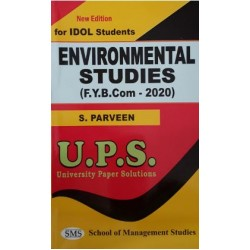 Environmental Studies I fybcom Sem 1 UPS Idol Students