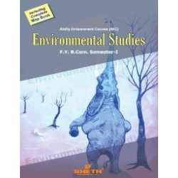 Environmental Studies I fybcom Sem 1 Sheth Publication