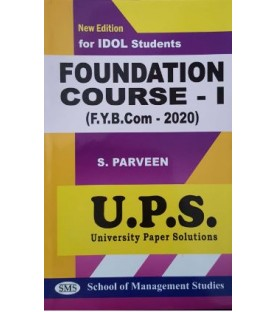 Foundation Course - I fybcom Sem 1 UPS Idol Students