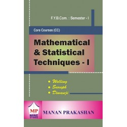 Mathematical and Statistical Techniques - I fybcom Sem 1