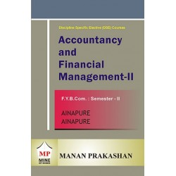 Accounting and Financial Management -II Fybcom Sem 2 Manan