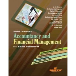Accounting and Financial Management -II Fybcom Sem 2 Sheth