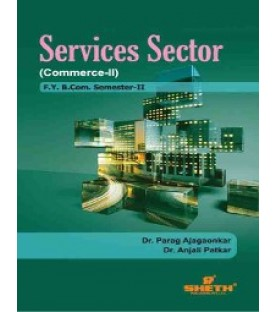 Commerce - II(Service Sector) Fybcom Sem 2 Sheth Publication