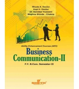 Business Communication - II Fybcom Sem 2 Sheth Publication