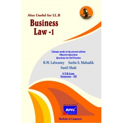 Business Law I sybcom sem 3 Rishabh Publication
