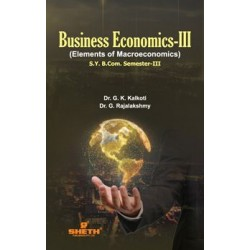Business Economics - III sem 3 Sheth Publication