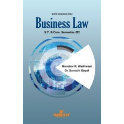 Business Law-I sem 3 Sheth Publication