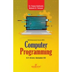 Computer Programming-I sem 3 Sheth Publication
