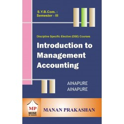 Introduction to Management Accounting sybcom sem 3 Manan