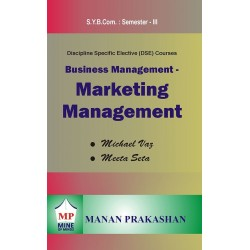 Marketing Management sybcom sem 3 Manan Prakashan