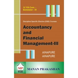 Accounting and Financial Management -III sybcom sem 3 Manan