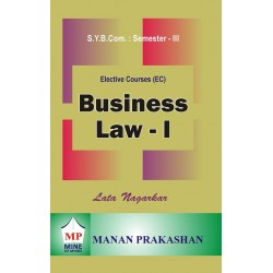 Business Law I sybcom sem 3 Manan Prakashan