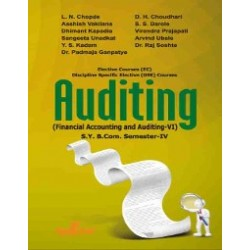 Financial Accounting and Auditing VI- Auditing sybcom Sem 4