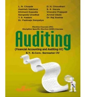 Financial Accounting and Auditing VI- Auditing sybcom Sem 4 Sheth Publication