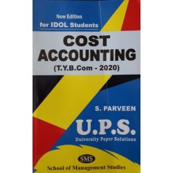 Cost Accounting tybcom Sem 5 Ups Idol Students