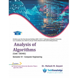 Analysis of Algorithms Second year Sem IV Computer Engg