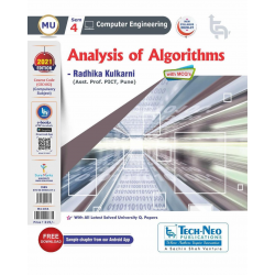 Analysis of Algorithms Second year Sem IV Computer Engg Techneo Publication