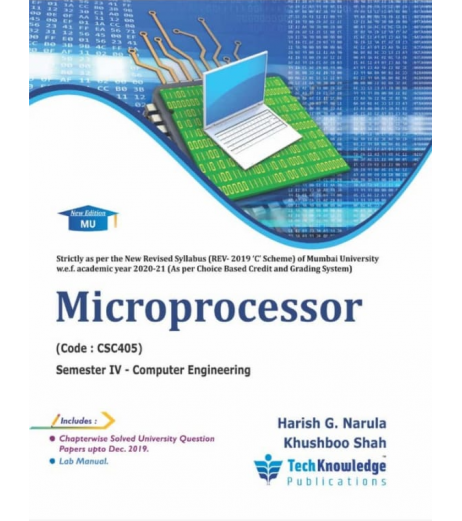 Microprocessor Second year Sem IV Computer Engg Techknowledge Publication