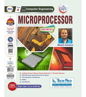 Microprocessor Second year Sem IV Computer Engg Techneo Publication