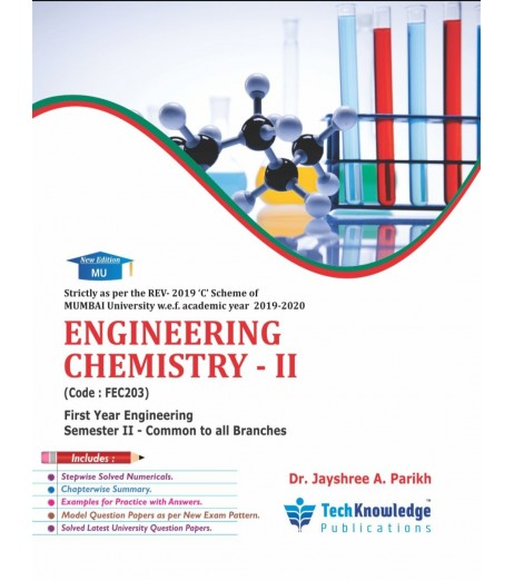 Engineering Chemistry 2 First Year  Sem 2 Techknowledge Publication
