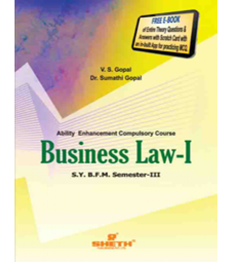 Business Law-I SYBFM Sem III Sheth Pub.