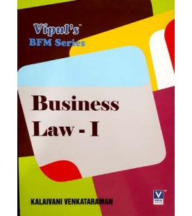 Business Law-I SYBFM Sem III Vipul Prakashan