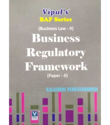 Business Law -II (Business Regulatory Framework) SYBFM Sem 4 Vipul Prakashan