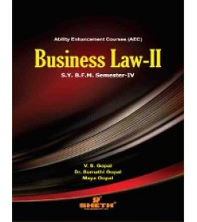 Business Law -II SYBFM Sem 4 Sheth Publication