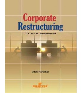Corporate Restructuring TYBFM Sem 6 Sheth Publication