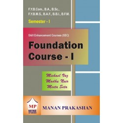 Foundation Course-I Sem 1 FYBMS, FYBBI,FAF, FYBFM Manan