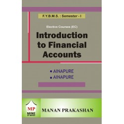 Introduction to Financial Accounting BMS Sem I Manan