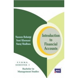 Introduction to Financial Accounting BMS Sem 1 Rishabh Publication