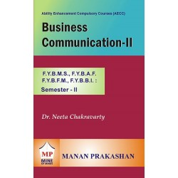 Business Communication -II FYBMS Sem 2 Manan Prakashan