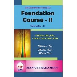 Foundation course-Value Education & soft skill-II FYBMS Sem