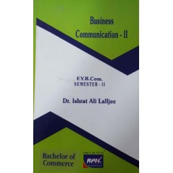 Business Communication -II FYBMS Sem 2 Rishabh Publication