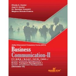 Business Communication -II FYBMS Sem 2 Sheth Publication