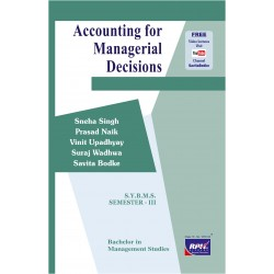 Accounting for Managerial Decision SYBMS Sem III Rishabh Publication