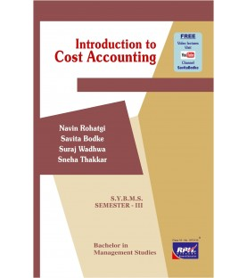 Introduction to Cost Accounting SYBMS Sem III Rishabh Publication