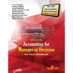 Accounting for Managerial Decision SYBMS Sem III Sheth