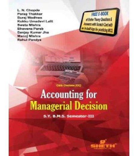 Accounting for Managerial Decision SYBMS Sem III Sheth Publication